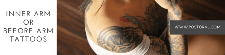 best places for a tattoo Inner Arm or Before Arm Tattoos