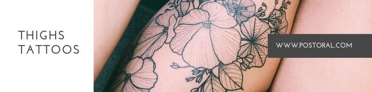 Thighs Tattoos