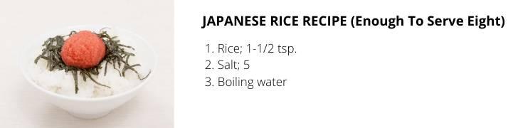 simple rice recipes
