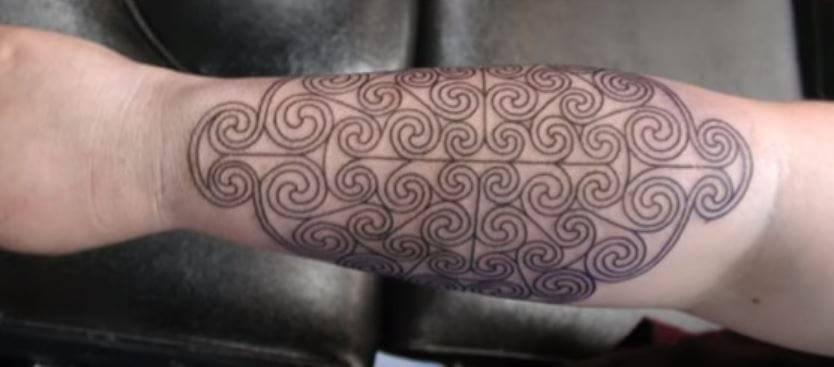 spirals tattoo