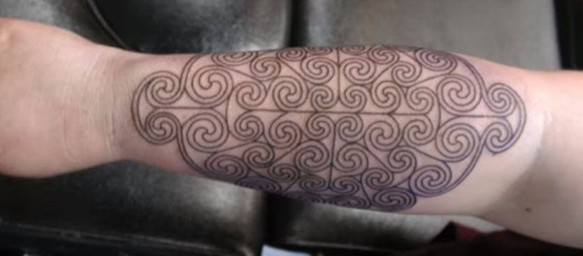 spirals tattoo