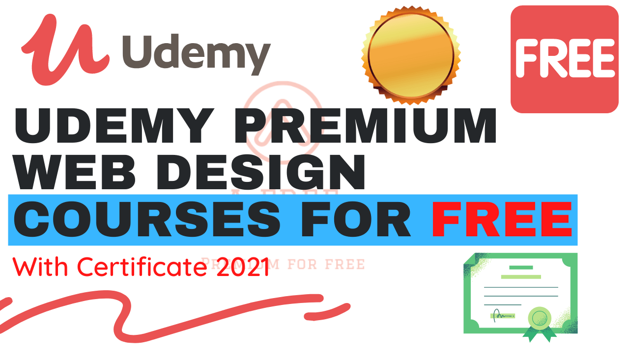 Udemy Premium Web Design Courses For Free
